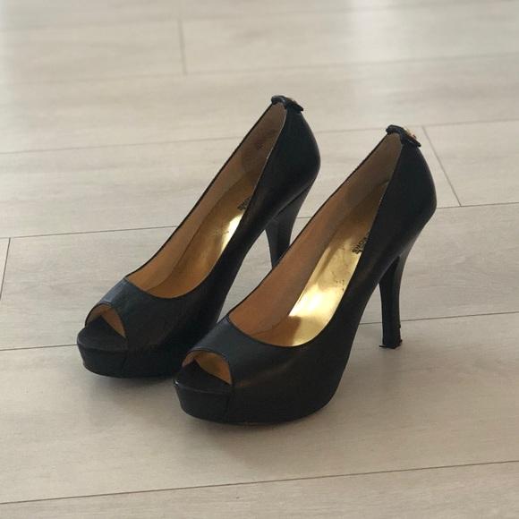 Michael Michael Kors Peep Toe Heels
